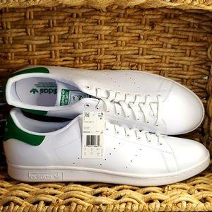 Adidas Stan Smith M20324 Size 20 US White Green